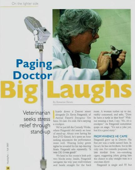 paging dr big laughs graphic