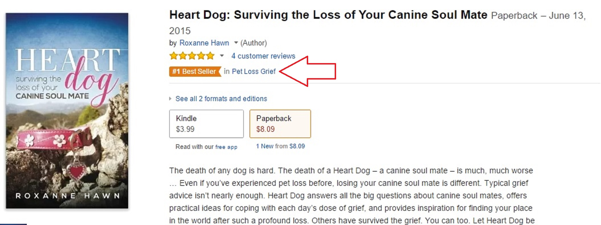 heart dog surviving the loss of your canine soul mate by roxanne hawn amazon best seller